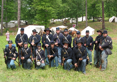 64th Illinois, Co. A, Yates Sharpshooters