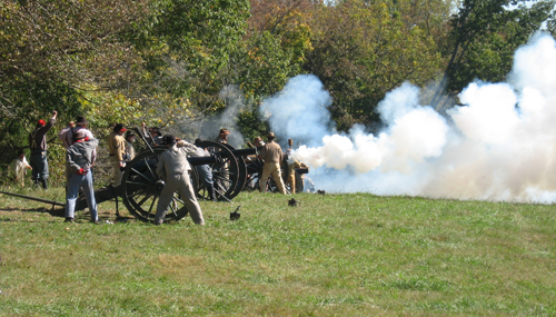 GDRA Artillery at the Battle of Fort Sanders 2010