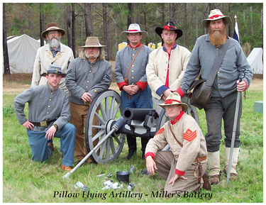 Pillow Flying Artillery - Miller's Battery